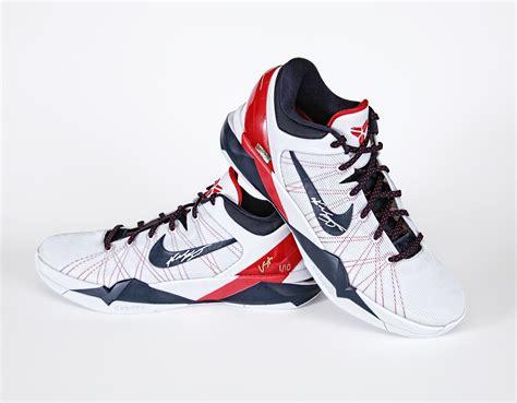usa shoes bryant autographed zoom vi edition shoes