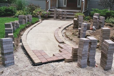 Superb Concrete Patio Thickness 10 Concrete Sand For Concrete Pavers For Patio
