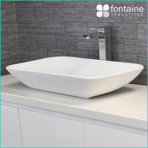 Bathroom Counter Basin Above Counter Basin Bathroom White Ceramic Modern Large