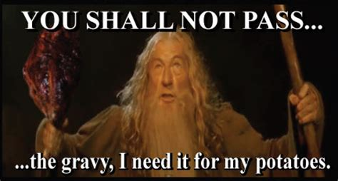 You Shall Not Pass Meme - ravinia festival jelly side up