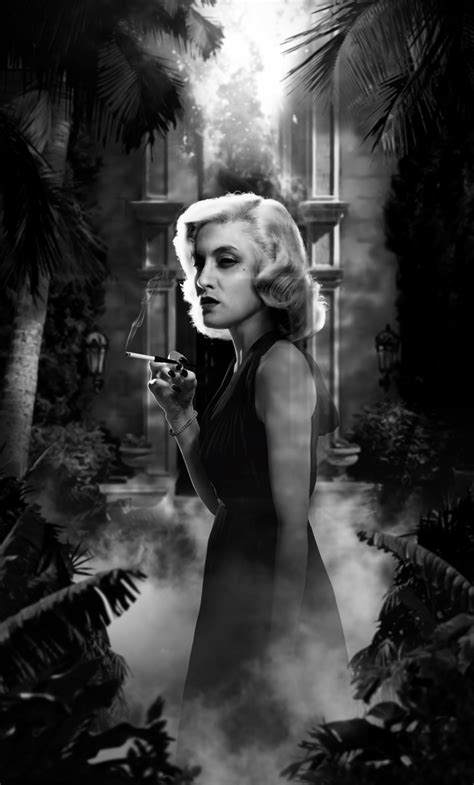 film noir ghost monstrous animated gifs give classic creatures a noir look