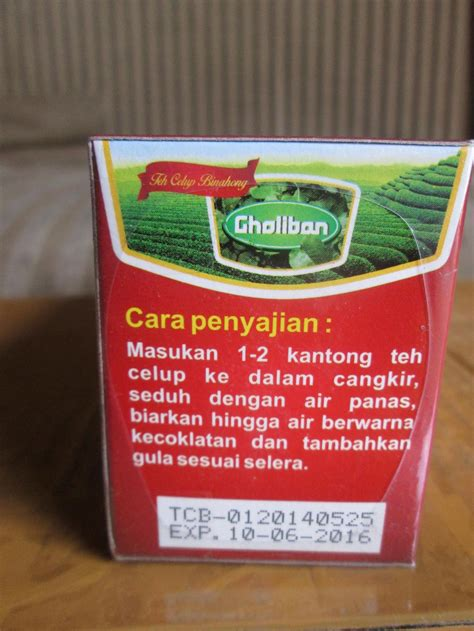 Suplier Teh Celup Pegagan Gholiban teh celup daun binahong harga murah hanya di alzafa