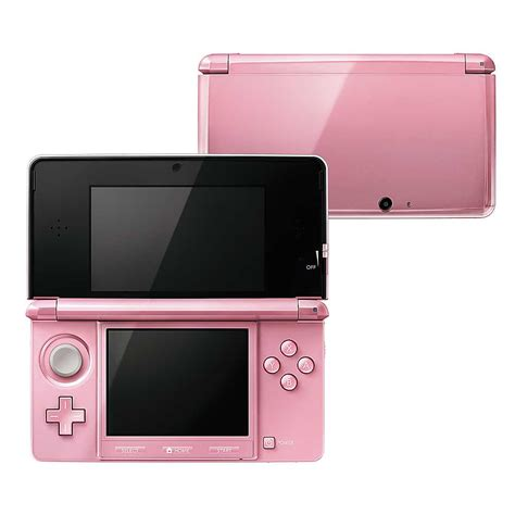 nintendo 3ds handheld console pearl pink ebay nintendo 3ds handheld console coral pink wifi