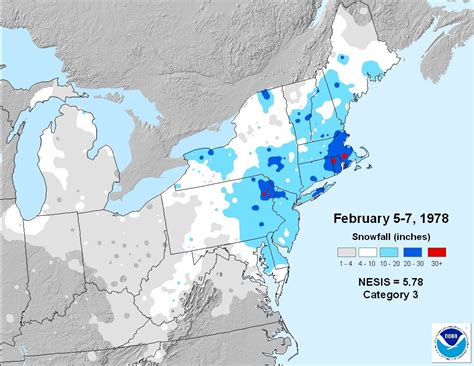 us blizzard weather map february 6 1978 the big one right weather