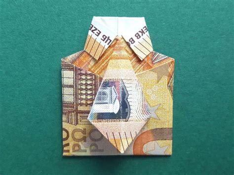 hochzeitskleid aus geld falten geldscheine falten hemd 50 euro neu