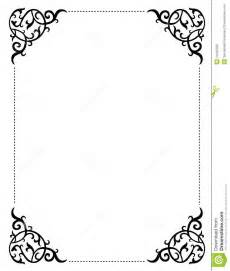 vintage wedding invitation borders
