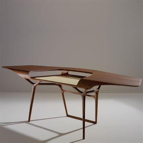 designer table no 233 duchaufour lawrance s computer design table manta