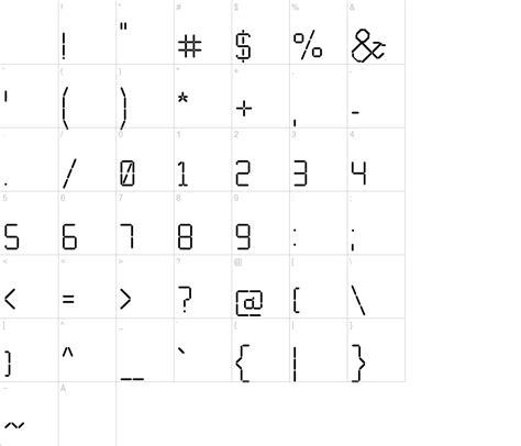 calculator font calculator font urbanfonts com