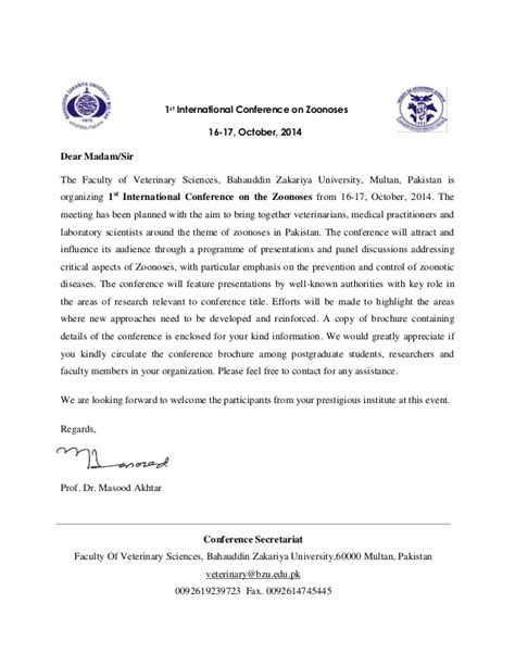 International Conference Invitation Letter 2016 International Conference Invitation Letter Futureclim Info