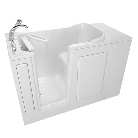 safe bathtubs safety tubs value series 48 in x 28 in walk in whirlpool