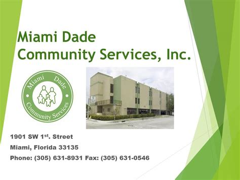 Miami Outpatient Detox by Miami Dade Community Services Powerpoint Version Miami