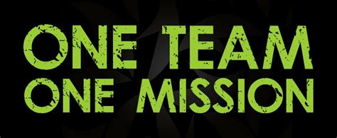 It Works the it works way one team one mission