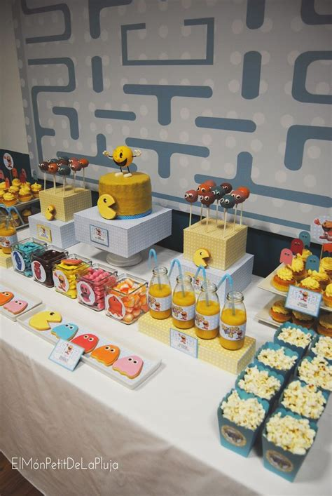 google themes pacman 24 best pacman birthday party images on pinterest