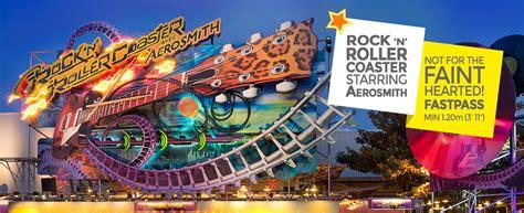 N Friends Roller Coaster rock n roller coaster with aerosmith walt disney