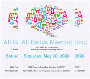 meeting invitation template 14 meeting invitation templates free sle exle