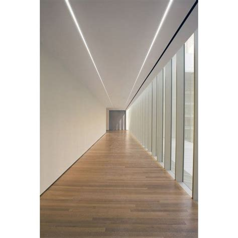 led c plaster in recessed slim led profile for led