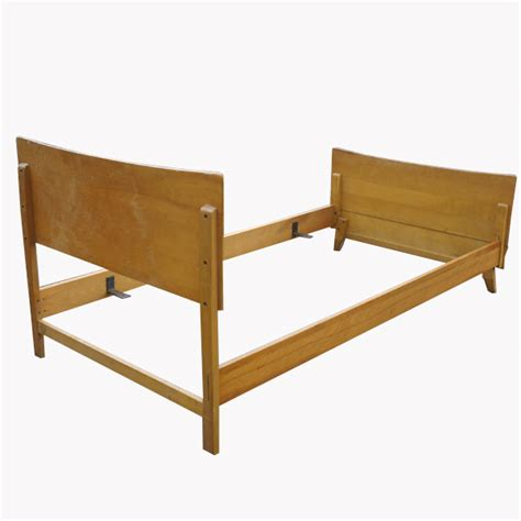 size of twin bed frame metro retro furniture heywood wakefield bed frame