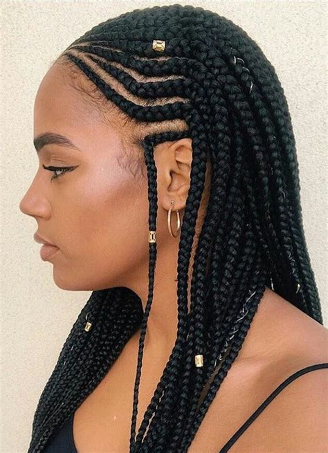 two cornrow braided hairstyle best 25 2 cornrow braids ideas on pinterest natural