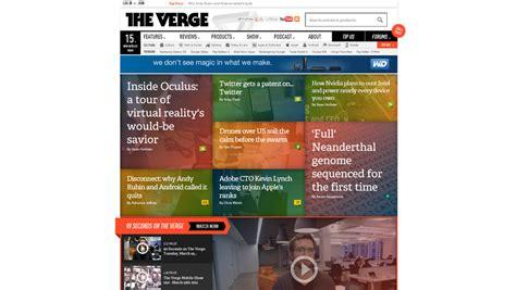 blogger website exles 20 web design exles of blog front end structures