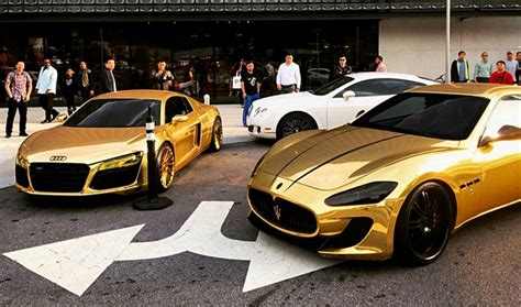 maserati chrome gold what do you guys think about a gold chrome maserati gt