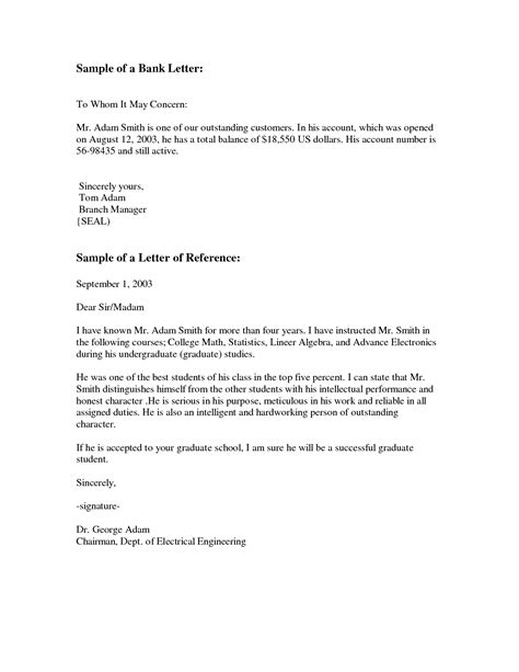 business letter exle to whom it may concern theveliger