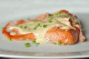 herb stuffed baked salmon recipe dishmaps