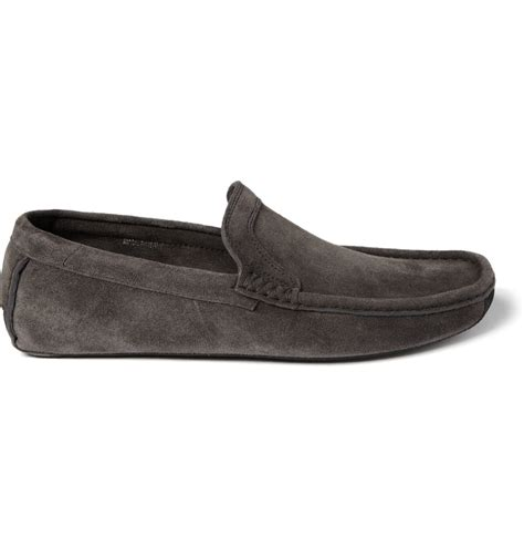 harrys of loafers harry s of jet moc 3 suede loafer in black for
