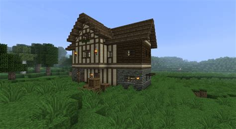 Blueprints To Build A House Medieval Timber Framing Minecraft Texture Pack