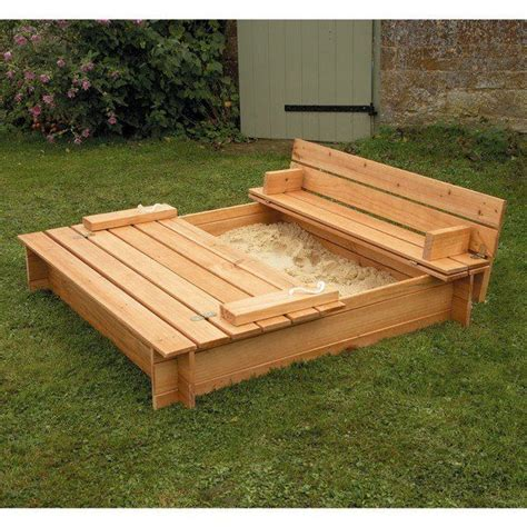 sandpit bench bench sand pit creative spaces pinterest