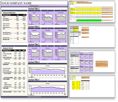 layout for report exle download the balance sheet report excel dashboard in purple