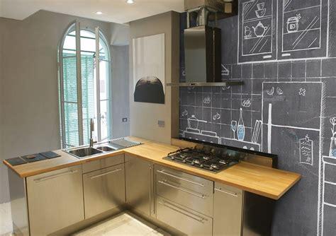 tafel kreide küche wandgestaltung kuche mit tapete speyeder net