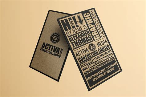 paper source business card templates kraft paper business cards unlimitedgamers co
