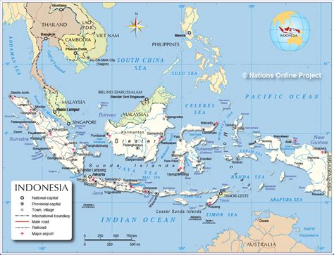 map indonesia map of indonesia my