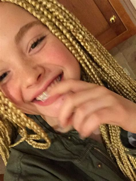 older people with box braids 12 year old white girl gets harshly criticized for showing
