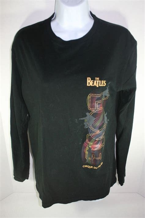 the beatles cirque du soleil sleeved pull t