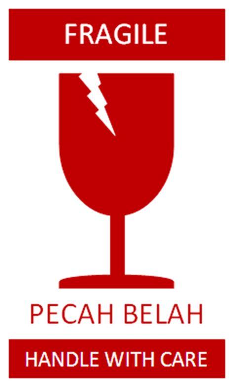 Styrofoam Package Of Fragile Pecah Belah mei 2014