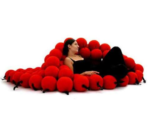 couch ball unique furniture design idea creating ultimate support