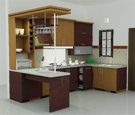 kitchen settings design desain dapur minimalis modern nulis