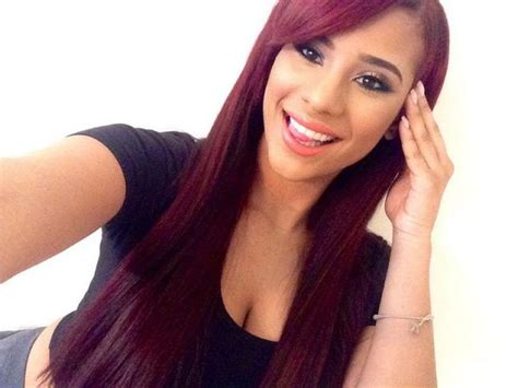 cyn santana new hair colors for 2014 cyn santana 2014 red hair www pixshark com images