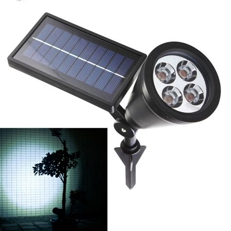 Solar Led Patio Lights Aliexpress Buy New Arrival Led Solar Light Outdoor 4 Leds Solar Power Spotlight Garden