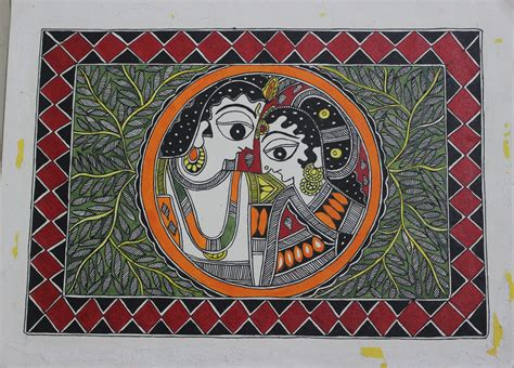 Home Decor Outlet Stores by Madhubani Paintings Radha Krishna