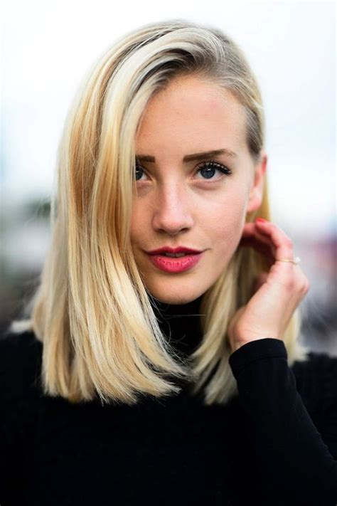 17 best ideas about blonde lob on pinterest short hair