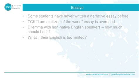 Third Culture Kid Essay by Working With Third Culture Tck S And International Students