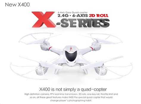 Drone Mjx X400 24g 6 Axis 3d Roll Rc Quadcopter mjx x400 fpv 2 4g 6 axis 3d roll rc quadcopter support hd