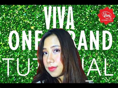 Eyeshadow Viva Kosmetik viva one brand tutorial simple look makeup tutorial 6