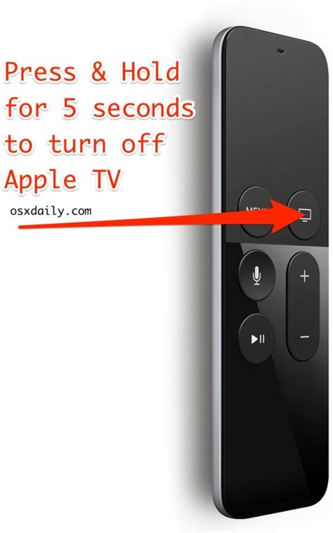 how to turn apple tv