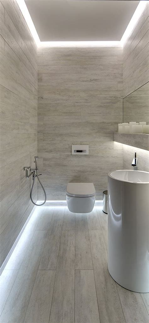 modern bathroom lighting ideas led bathroom lights 25 creative modern bathroom lights ideas you ll digsdigs