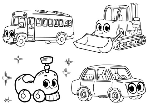 crayola free coloring pages cars trucks other vehicles cars trucks and other vehicles coloring pages free