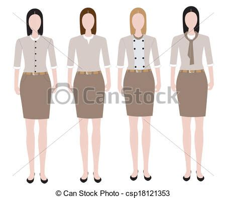free design uniform clipart vector of woman in uniform design woman in