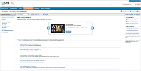 sas tutorial online video a hub for free video tutorials to help you learn sas